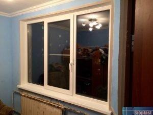 окно в панельный дом хрущёвского типа