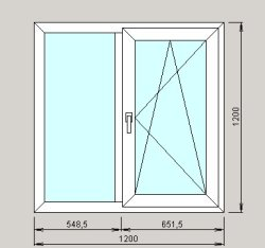купить окно 1200x1200