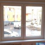 Г-образное окно в стандартное