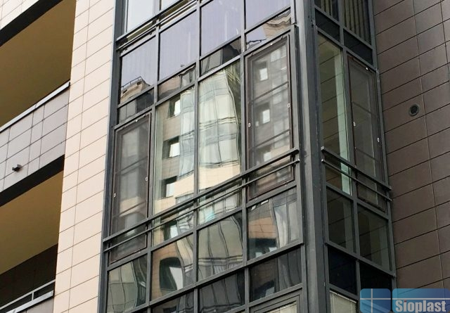 Балкон ЖК Три Ветра Приморский 62