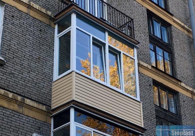 Балкон в сталинку спб