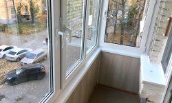 отделка балкона в сталинке спб