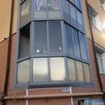 Холодный балкон ЖК Еловый Дом