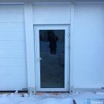 Алюминиевая дверь СИАЛ с терморазрывом