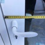 Системная высота створки алюминиевой двери СИАЛ