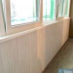 Утепление остекления балкона Гринландия 2