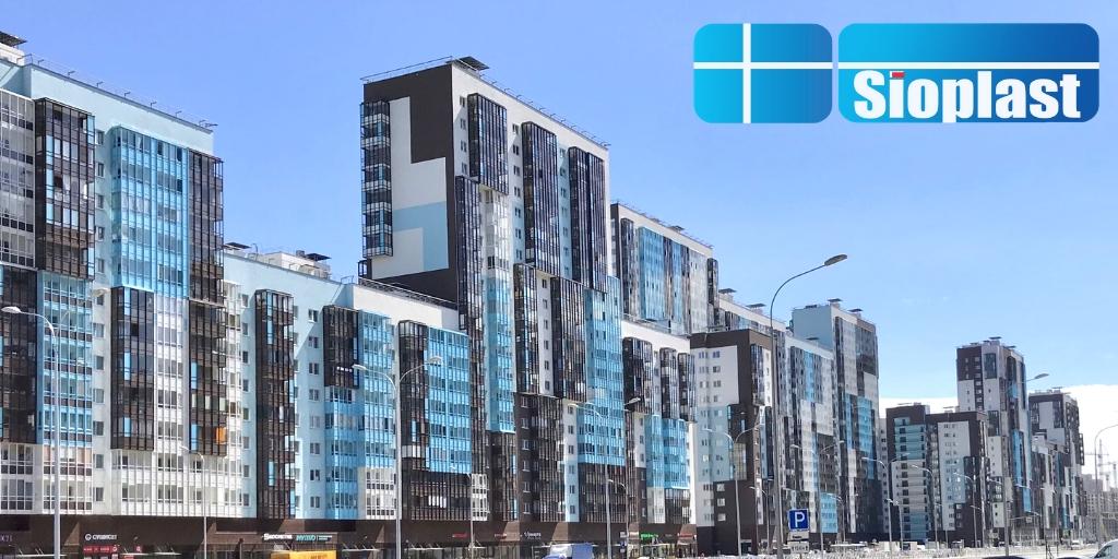 Балконы ЖК Чистое Небо