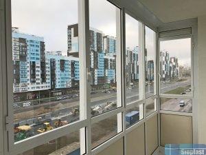 Холодный балкон ЖК Чистое Небо