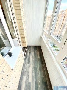 Тёплый балкон ЖК Новый Оккервиль Кудрово